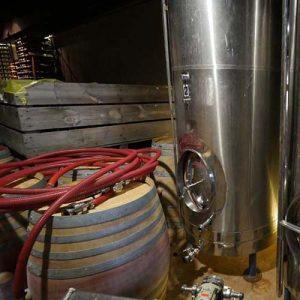 vineyard barrel
